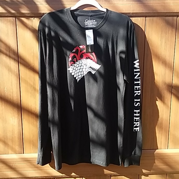 NWT Game of thrones Fire And Blood Winter Is Here
